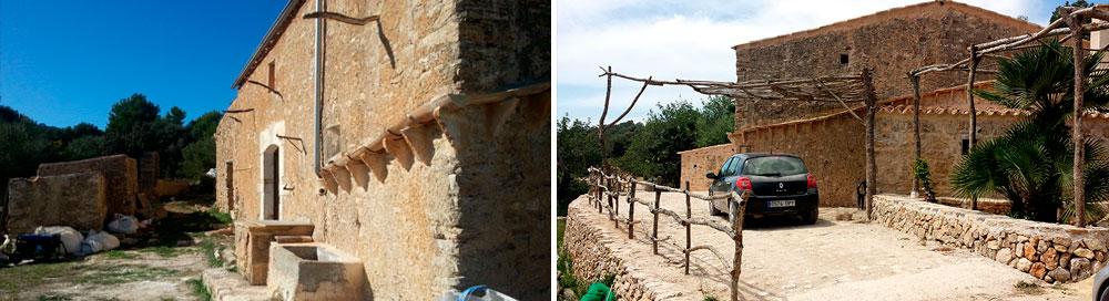 Rehabilitación vivienda tradicional en Petra